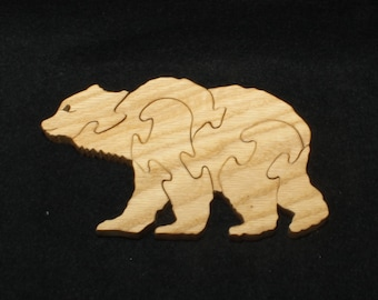 Puzzle- Brown Bear