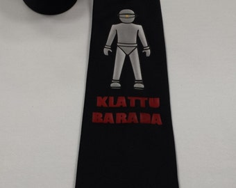 The Day The Earth Stood Still 1951 Mens NeckTie
