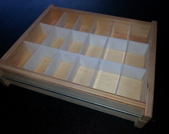 18 Bar, 5 Lb Collapsable TRAY SLAB SOAP Mold, Cold or Hot Process Loaf Mold Wooden Wood