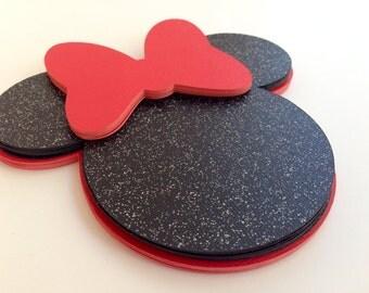 Minnie Mouse die cut DIY