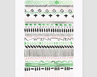 "Art print ""folklore No.3"""