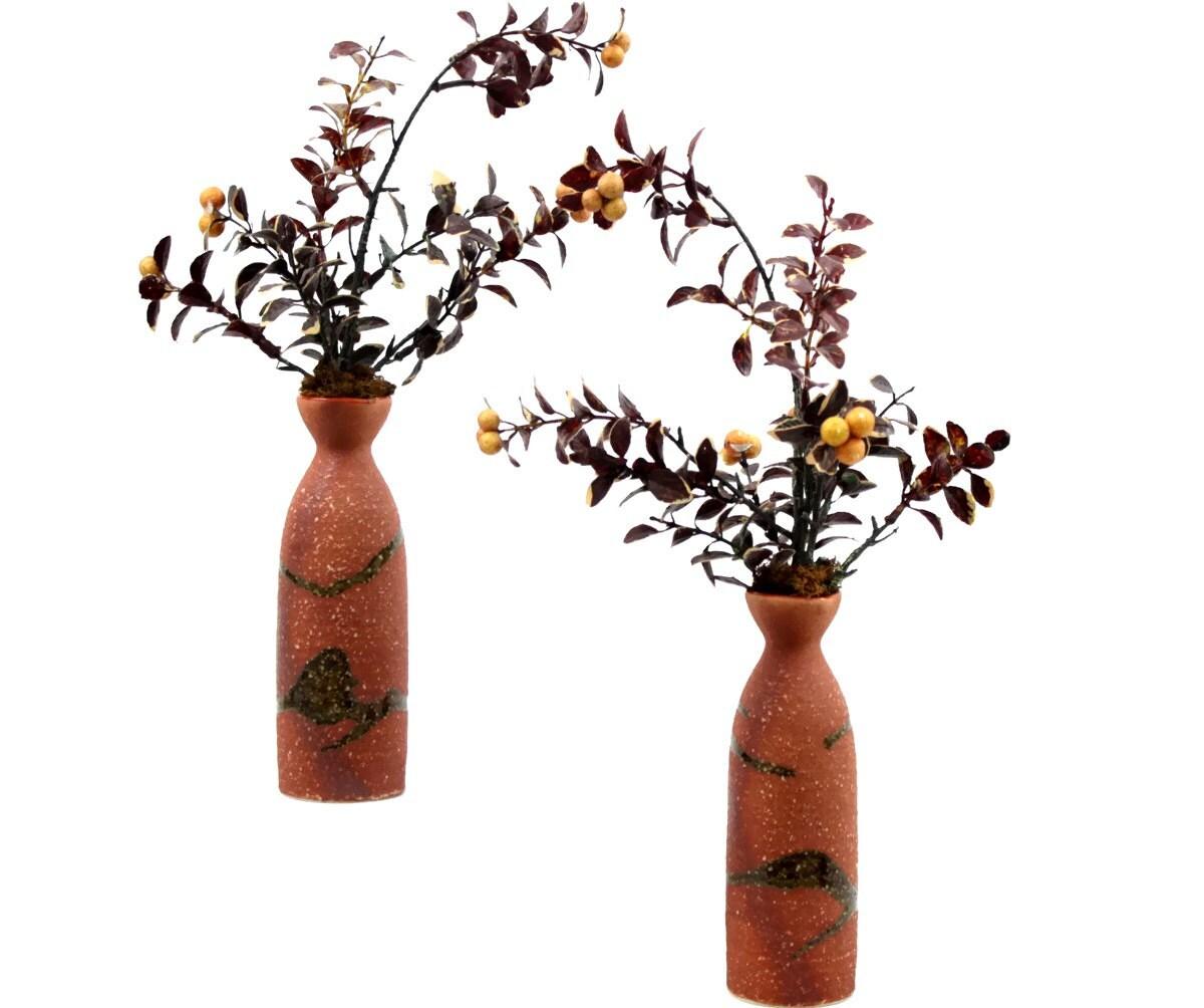 Mantel Arrangements: Fireplace Mantel Décor Silk Floral Arrangement By