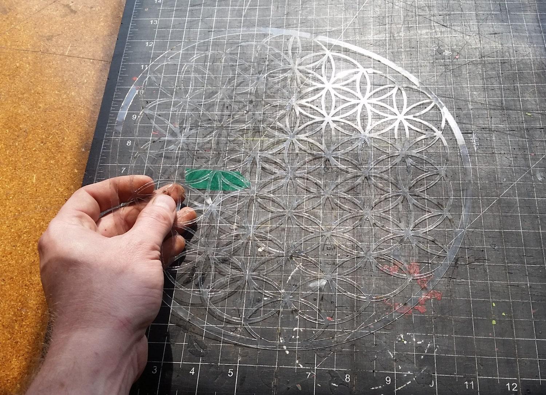 Sacred Geometry Stencils Sacred Geometry Stencil