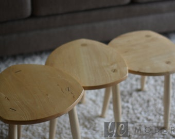 R. Chamberlin Nesting Tables/Stools