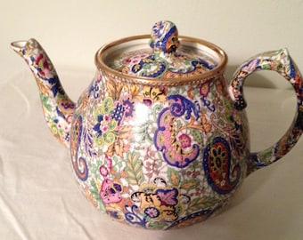 Rare WADE Paisley Teapot - 1920-1927