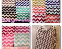 Chevron Breastfeeding scarf/shawl- this cover comes in 18 different chevron colors-
