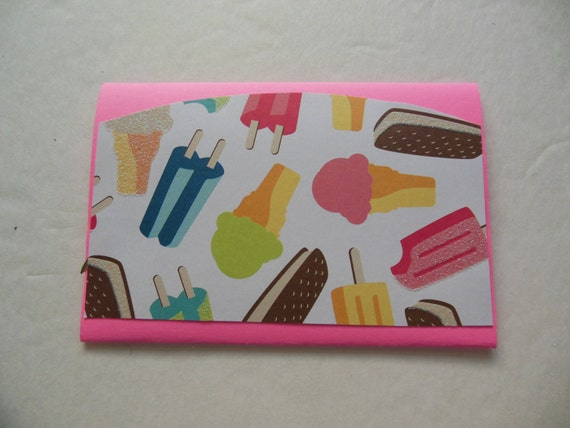 Ice Cream Gift Card Holder Holder Ice Cream ◅ ▻
