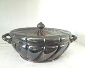 Vintage Unusual Wilcox Silverplate Covered Casserole