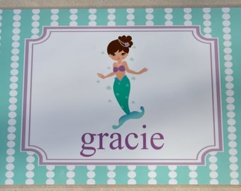Personalized Children's Placemat