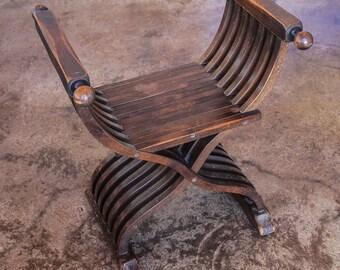 Savonarola Chair California Furniture Company 1930's