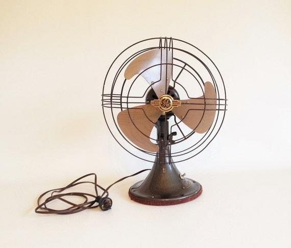 Electrical Table Fan : Vintage electric fan s general by vintagietta