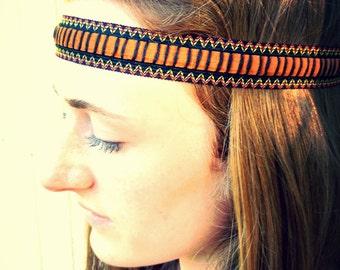 Navajo ZigZag Native American Headband