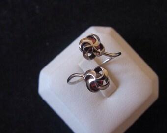 Vintage Adjustable Sterling Ring