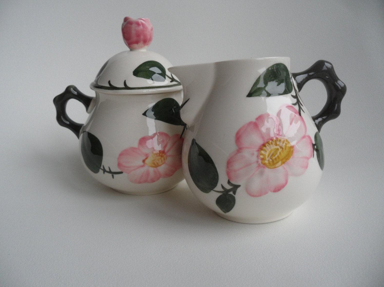 villeroy boch milk and sugar wild rose. Black Bedroom Furniture Sets. Home Design Ideas