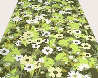 Flowers in the Attic Vintage Original Wallpaper Flower 1970s 1960s