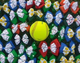 Team Softball bows