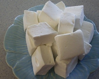 Coconut marshmallows tropical dessert candy buffet party favors shower wedding s'more hot cocoa bar luau gluten free gourmet confections