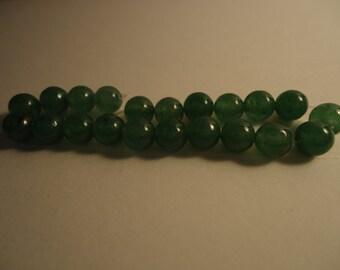 Green Adventurine Beads 6mm