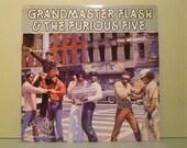 Grandmaster Flash & The Furious Five - The Message - Vinyl record Lp Album