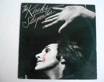 The Kinks - Sleepwalker - vinyl record