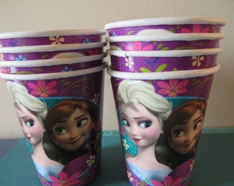 Frozen Drink/Ice Cream Cups - perfect for Frozen birthday parties