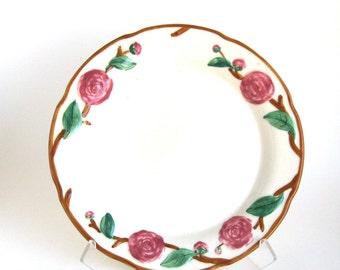 Metlox Chop Plate -- Camellia Pattern