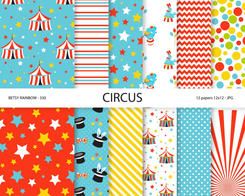 circus patterns printable - photo #15