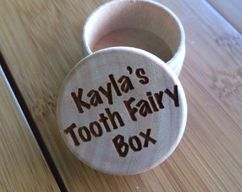 Personalized Tooth Fairy Keepsake Box