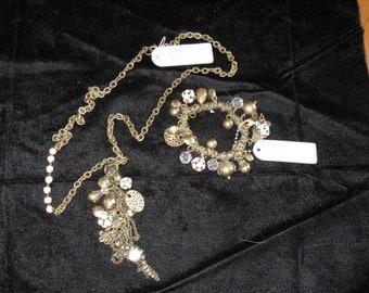Relativity necklace and bracelet set never worn