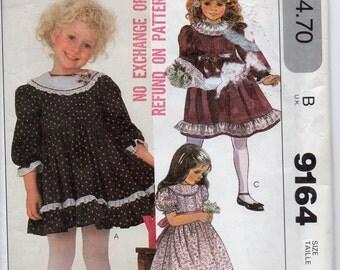 McCalls 9164 Girls Ruffles and Lace Dress Size 5
