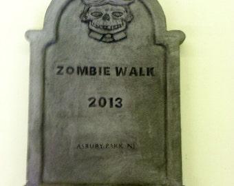 Zombiewalk NJ 2013 souvenir tombstone