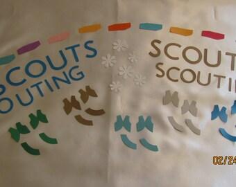 scouting die cuts