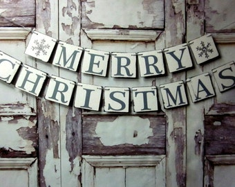 rustic sign: ALL NEW RUSTIC MERRY CHRISTMAS SIGN