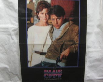 Blue City 1985 850086 Movie Poster mp006