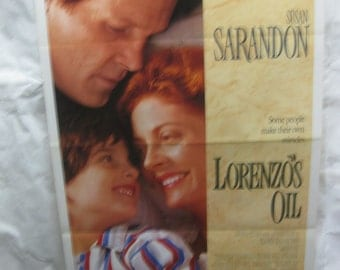 Lorenzo's Oil 1992 Movie Poster mp108