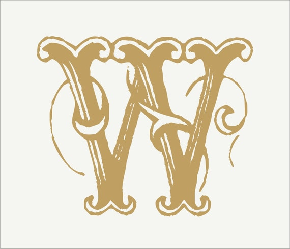 Items similar to stencil custom monogram stencil large 10 for Large monogram letter stencil