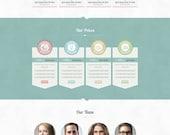 Wordpress Site. Advanced Web Design. Five pages. Custom Wordpress Web and Blog Template