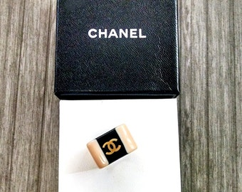 Authentic CHANEL Resin Ring