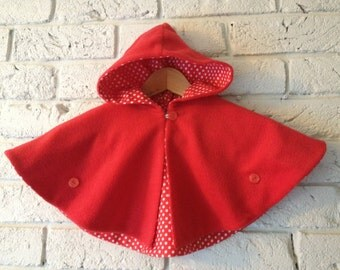 Little Red Cape 00 through to 3y
