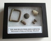 Grouping of Original Civil War Relics from Maryland 3