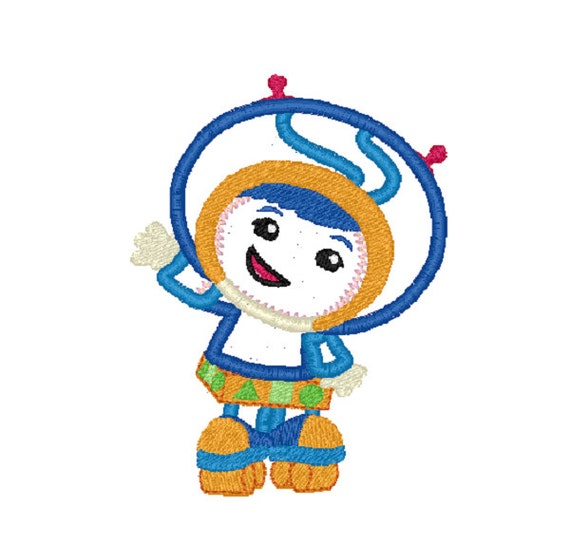 Team Umizoomi Embroidery Design