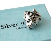 Silver Ring | Jaguar Ring | Wild Animal Rings | Mayan Ring | Handmade on demand | Handcraft | Sterling Silver Rings Shop | CC031 8
