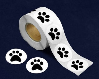 500 Paw Print Stickers (DST-PB)