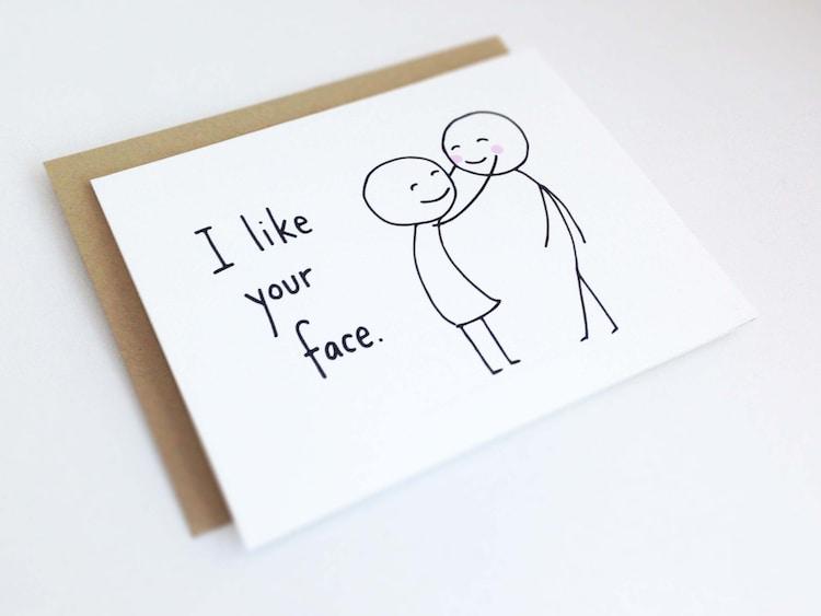 cute love card for boyfriend  anniversary