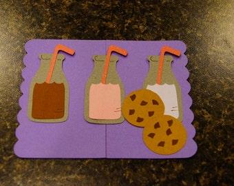 Milk and Cookie Invitations