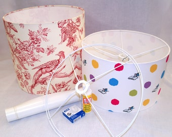 Items similar to DIY lamp, lampshade, PDF tutorial, pendant light ...:15
