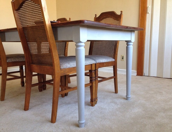 rustic dining table farmhouse solid pine wood kitchen table paris