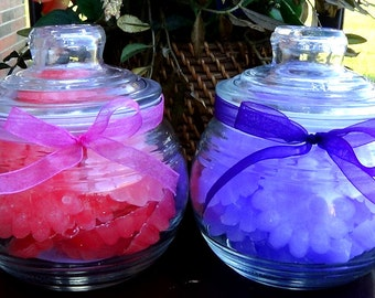 Ultra Scented Wax Melts in Glass Jar Choose your Scent