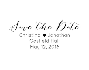 "Wedding Favours Stamp, couples wedding day stamp, wedding RSVP, wedding invitations, save the date, 2.5""x1.1"" (cstd30)"