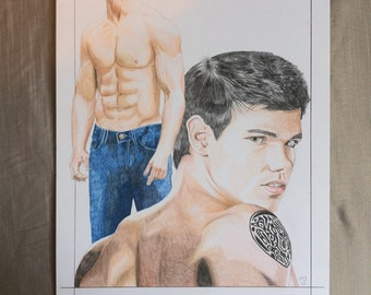 "Taylor Lautner as Jacob Black in ""Twilight"""